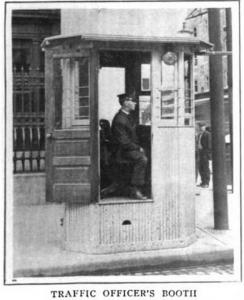policeman booth